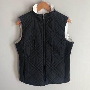 Izod Quilted Vest Jacket size M